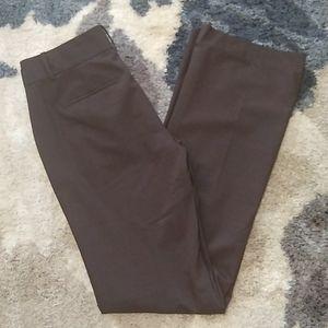 Ann Taylor Fall 2014 Sample Brown Pants